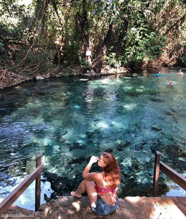 Rio azuis Serras Gerais Tocantins