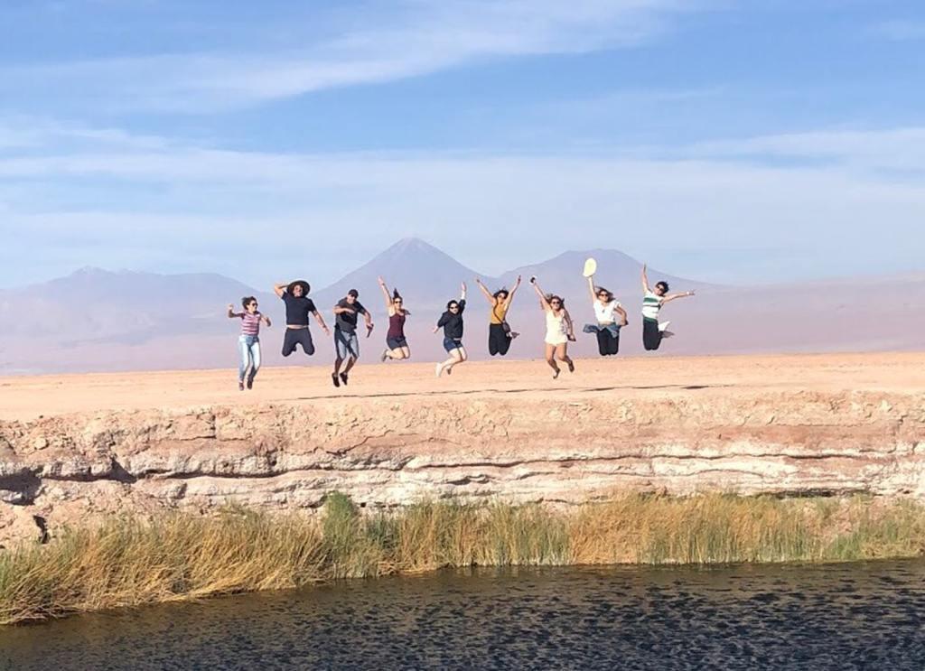 Ojos del Salar no Deserto do Atacama