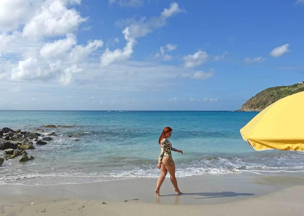 Praia em St Maarten