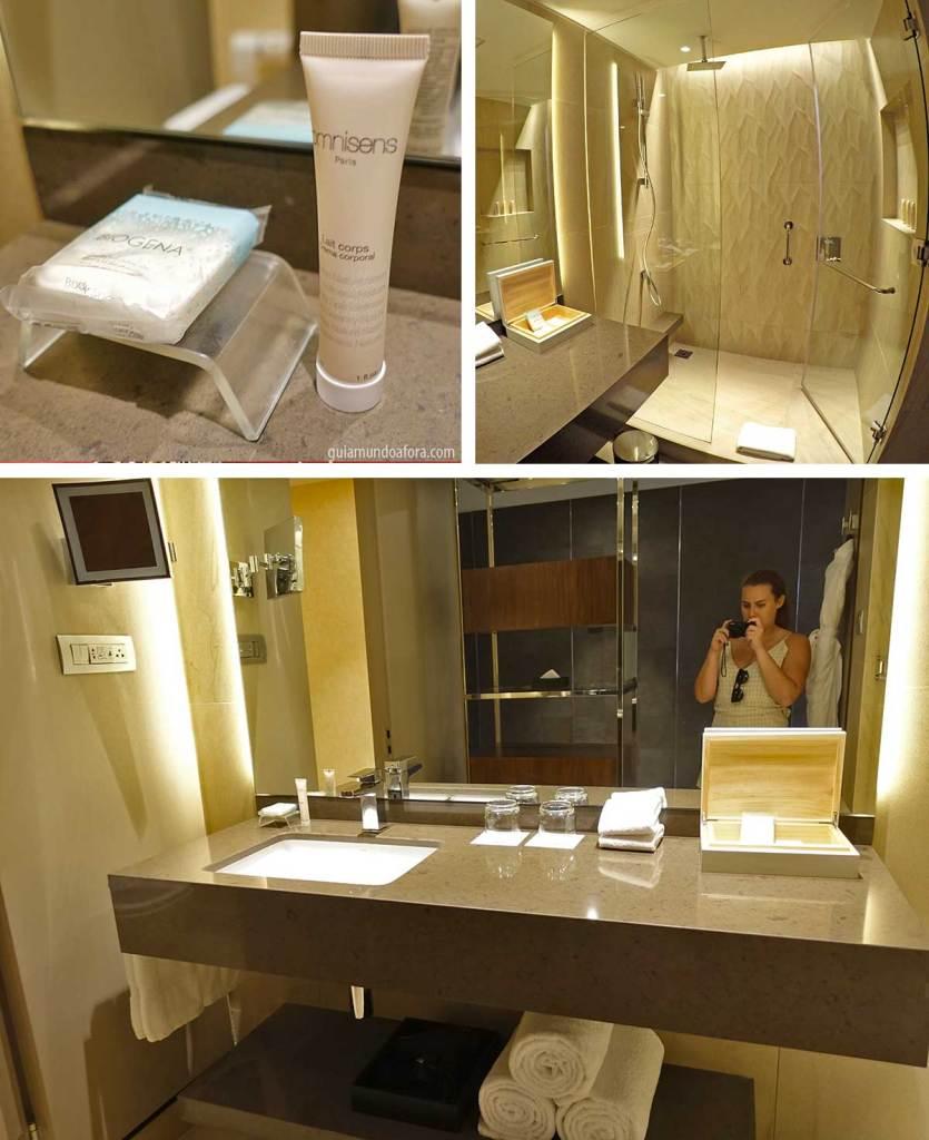 banheiro mandarin oriental santiago