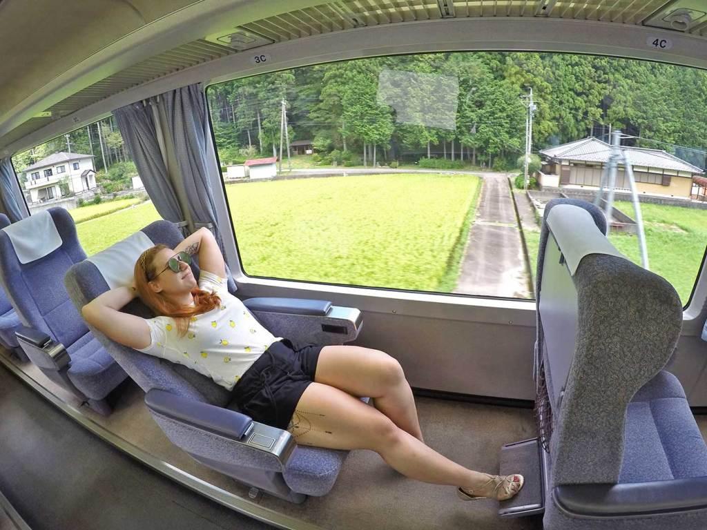 JR Pass trem no Japão