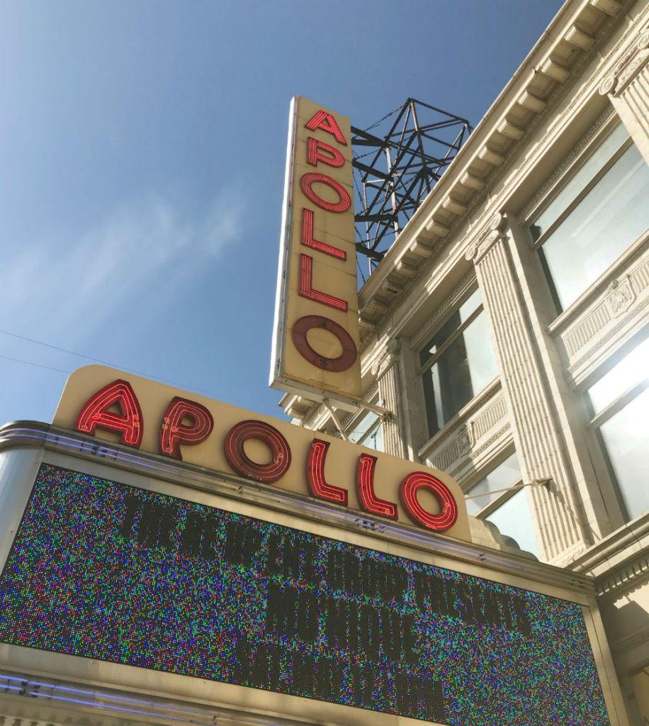 Apollo Theater no Harlem, em Nova York