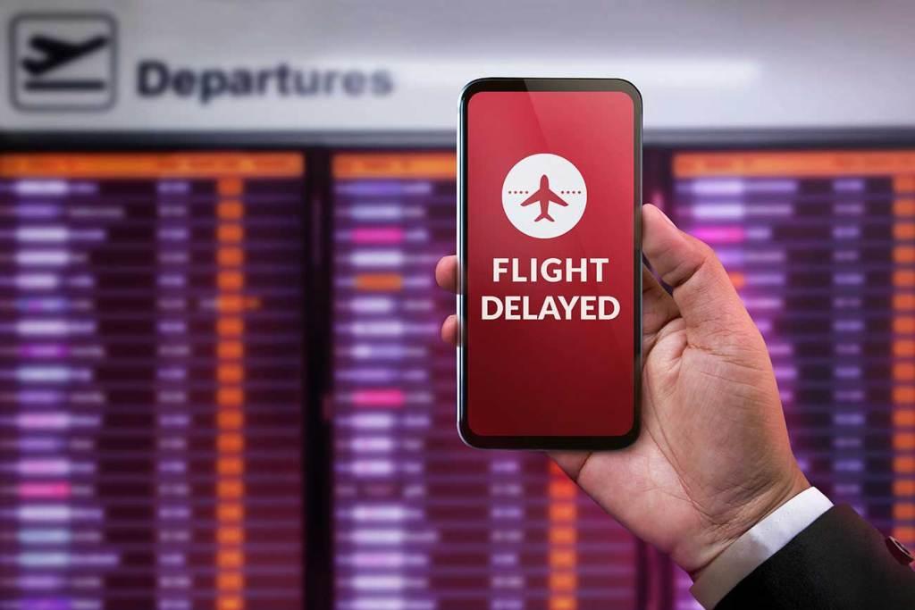 atraso de voo