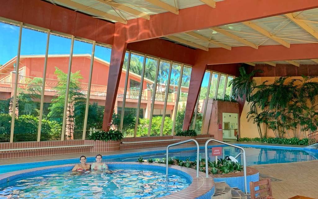 piscina indoor hotel villa rossa