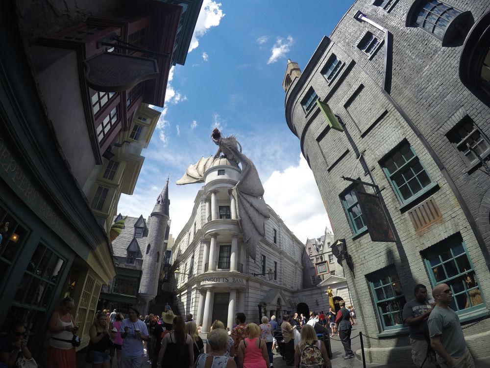 Diagon Alley de Harry Potter na Universal Orlando