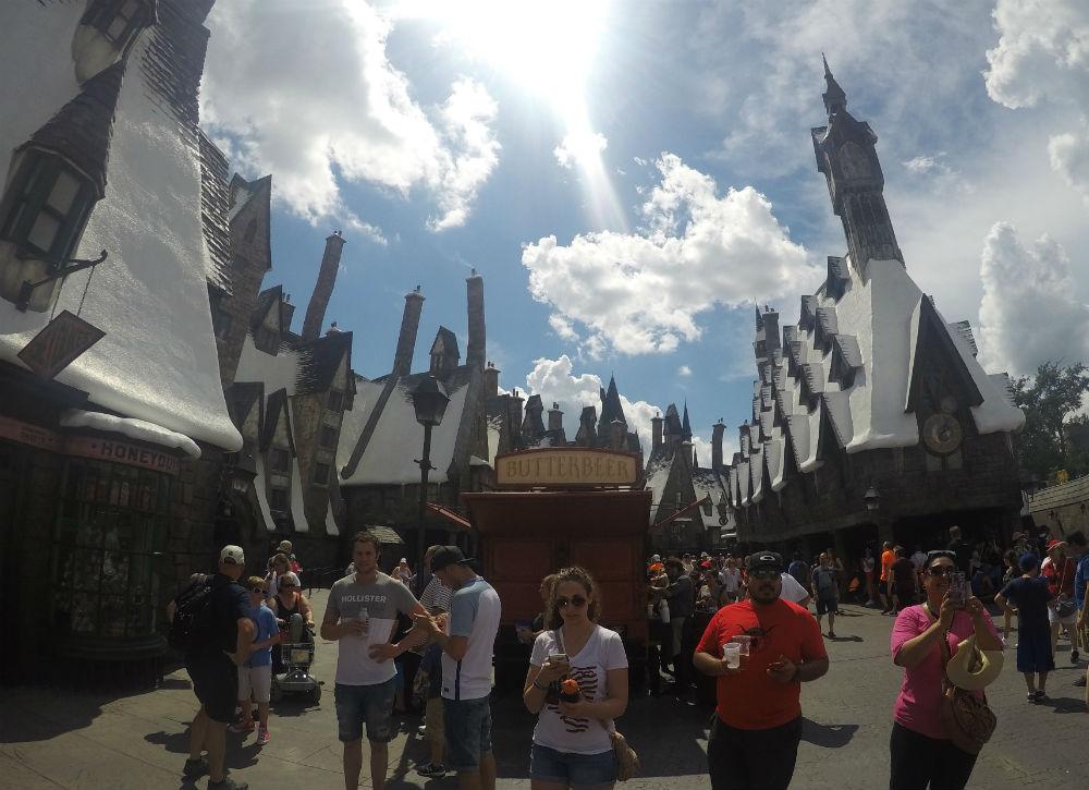 hogsmeade Harry Potter na Universal Orlando