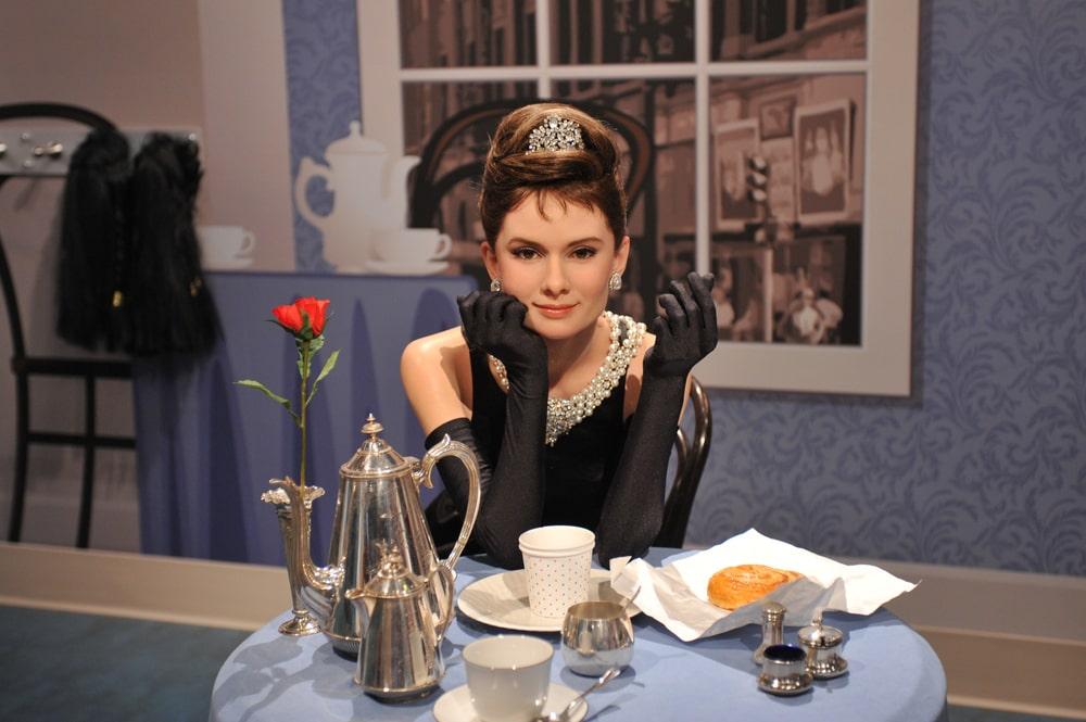 Audrey Hepburn no Madame Tussauds Hollywood