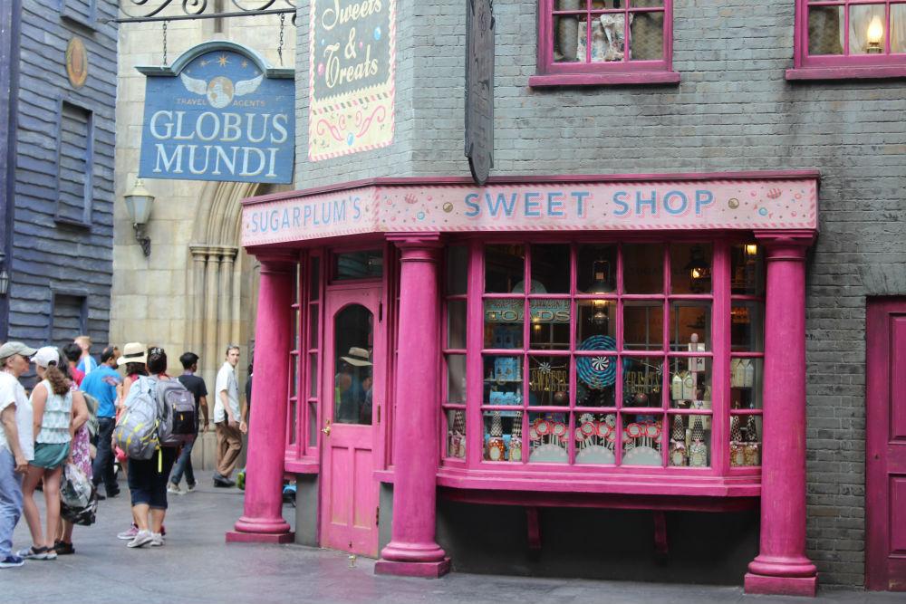 Sugar Plium Harry Potter na Universal Orlando