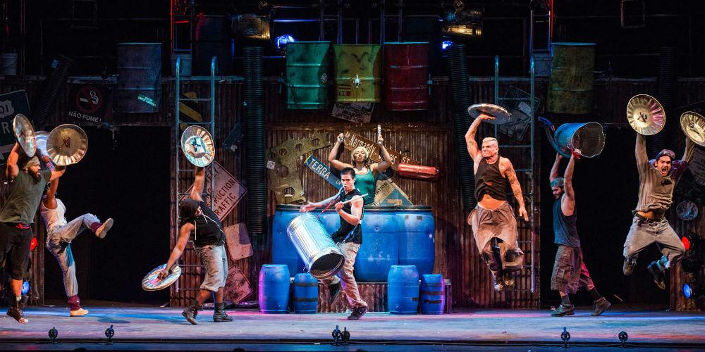 cena do musical Tina Turner na Broadway