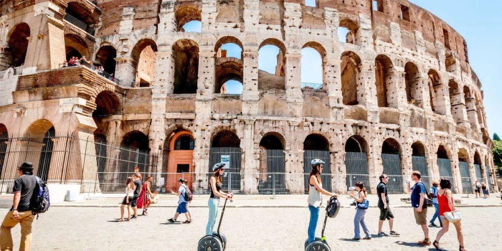 Tour segway em Roma