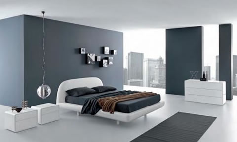 Decoracin En Blanco Y Gris
