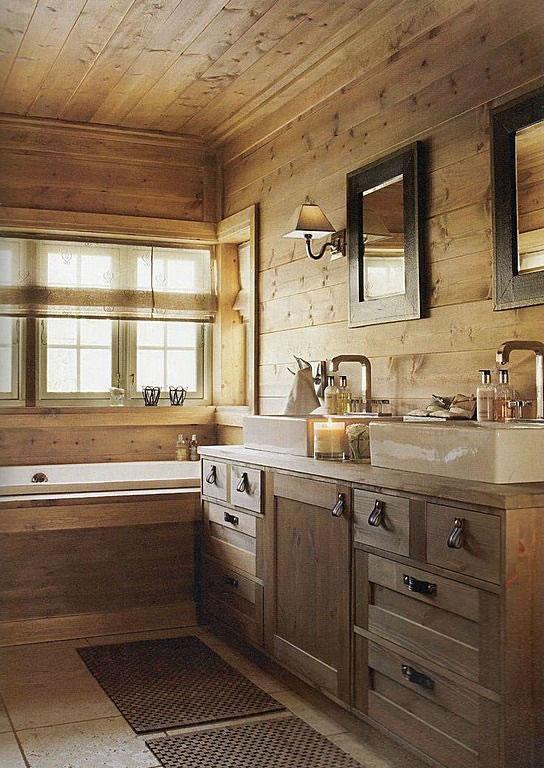 Ideas para tener un baño de estilo rústico on Remodel:ll6Wzx8Nqba= Small Kitchen Ideas  id=66672
