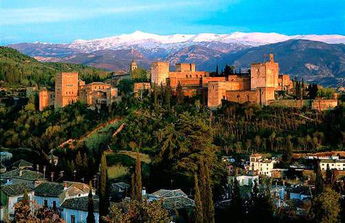 images of the city of Granada