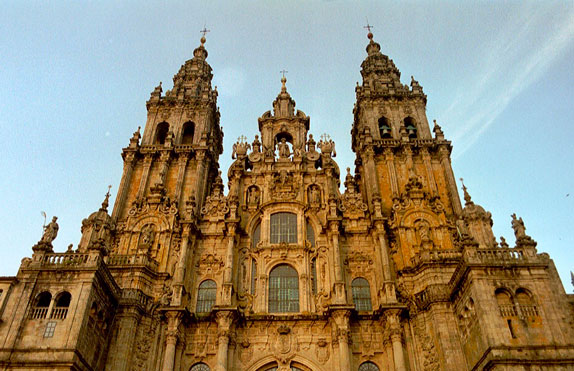 images de la ville de Santiago
