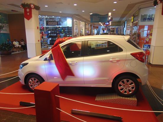 São Gonçalo Shopping_Sorteio Novo Ford Ka_01
