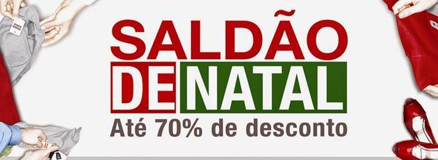 São Gonçalo Shopping promove Saldão de Natal, entre 9 e 11 de janeiro