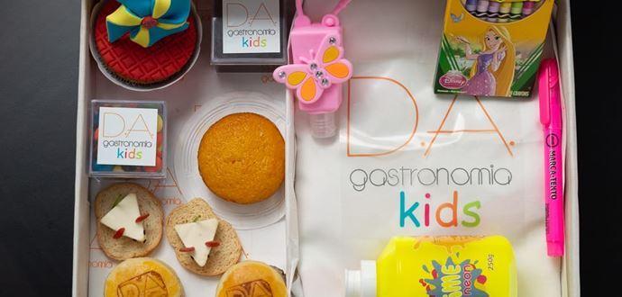 D.A. Gastronomia lança kit de arte divertido e saboroso para o Dia das Crianças