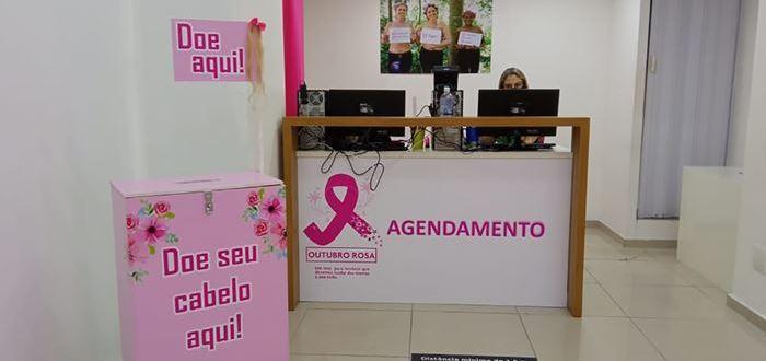 Outubro Rosa: São Gonçalo Shopping promove campanha de corte com doação de cabelo