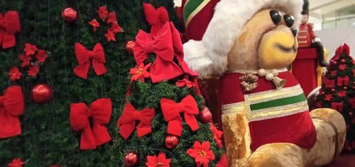 São Gonçalo Shopping promove Natal com decoração tradicional e ações virtuais