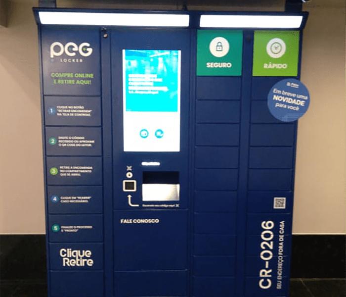 Pátio Alcântara investe em armários inteligentes para facilitar retirada de compras no mall