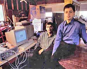 Sergei Brin y Larry Page garaje 1998