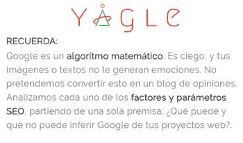 Yaggle: expertos en métricas SEO
