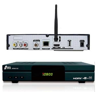 Decodificador Iris 9700 HD