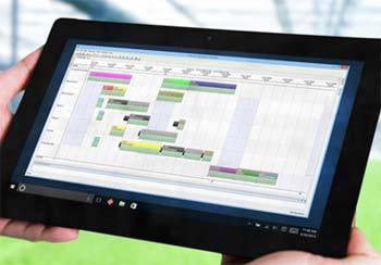 Software de gestión de producción