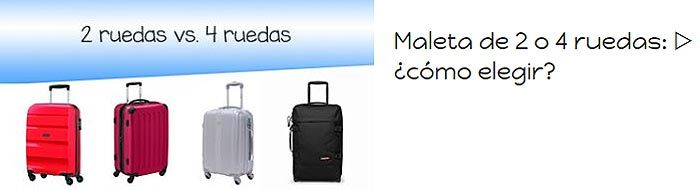 Consejos sobre maletas de viaje
