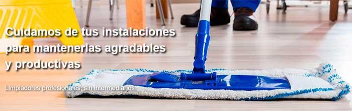Empresas limpieza trabajadores propios