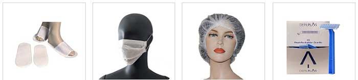 Productos desechables cosméticos