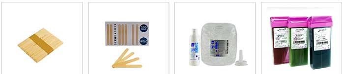 Productos para la depilación