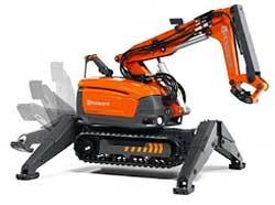 Robots de demolición