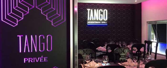 Rótulos Tango Privee Marbella