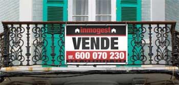 Lonas para carteles inmobiliarios