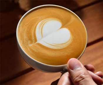 Latte Art Corazón