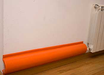 Protector tubo radiador