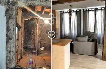 Fotos antes y después de una reforma