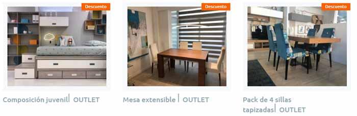 Outlet tienda de muebles