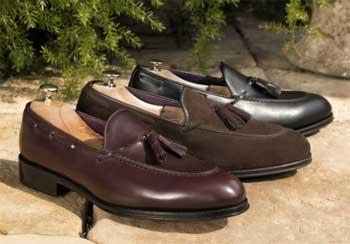 Zapatos de verano con borla