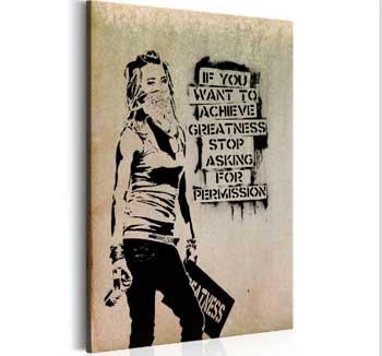 Cuadros urbanos con mensaje
