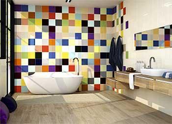 Azulejos multicolor