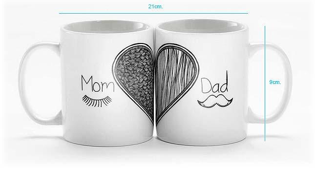 Tazas personalizadas para regalos