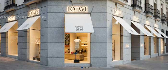 Letras corpóreas Loewe