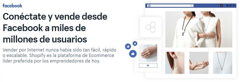 App Facebook Shopify