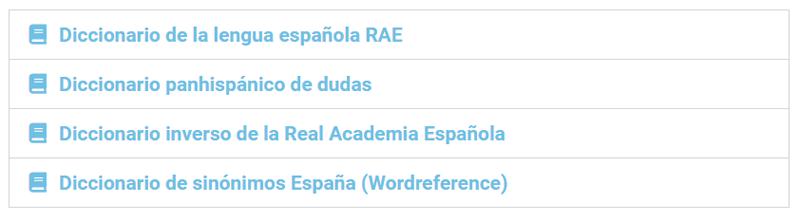 Diccionarios online