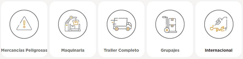 Tipos de carga