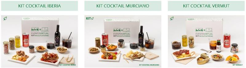 Kits catering personalizados
