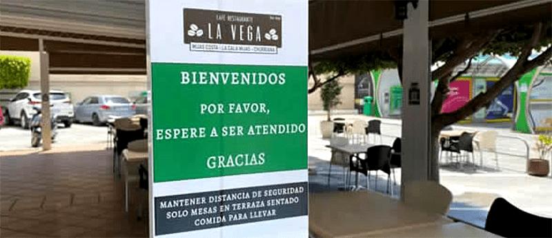 Restaurantes seguros Málaga