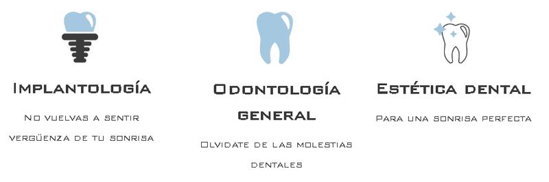 Servicios Clínica Dental Martín Riva